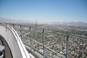 Stratosphere'den Vegas'ın görünüşü