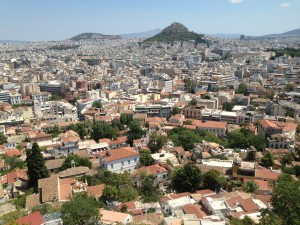 Baştan Aşağı Komşu Başkent; Atina