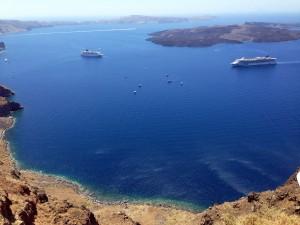 Yunan Adalarının Kraliçesi; Santorini-1