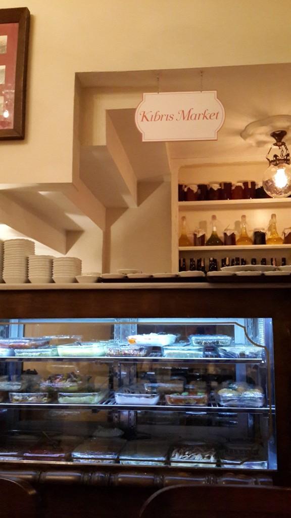 Kıbrıs'a Özgü Ürünlerin Satıldığı Mini Kıbrıs Marketi