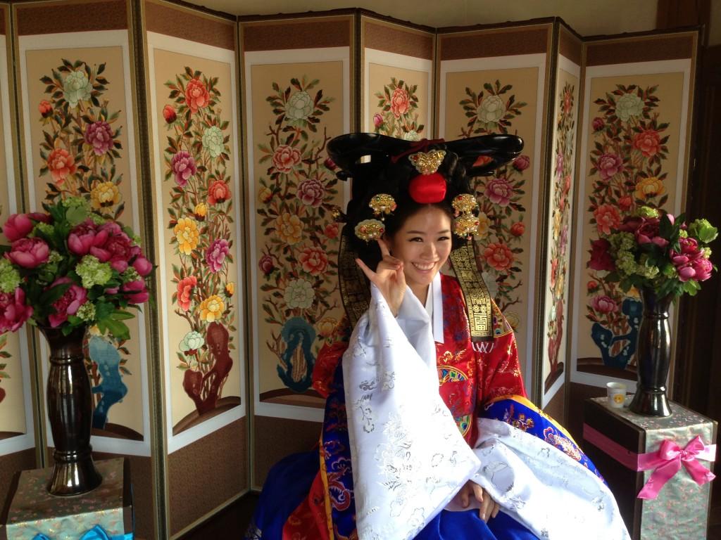 Seul'de Geleneksel Kore Düğünü