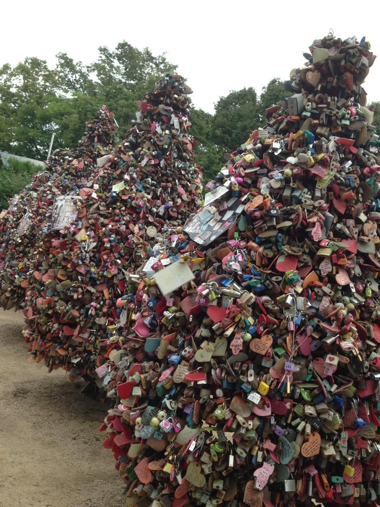 Namsan Kulesinin Aşk Kilitleri