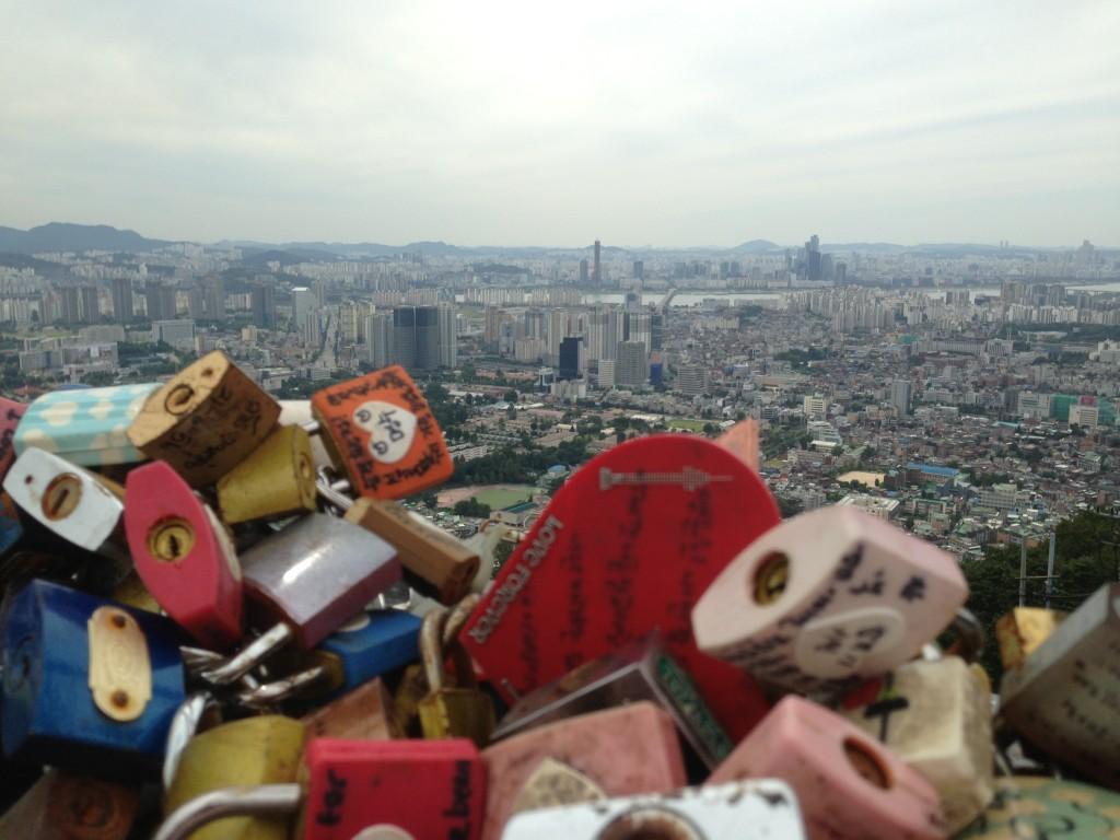 Namsan Kulesinden Seul