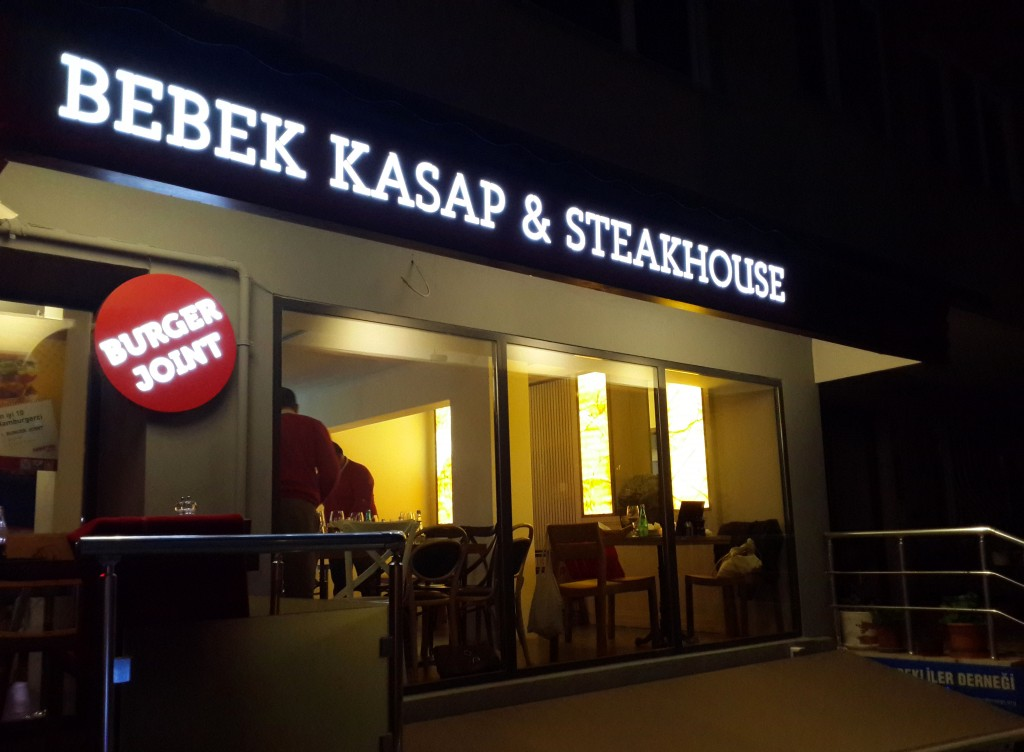 30 Yıldır Kasaptı şimdi ise Bebek Kasap&Steakhouse…