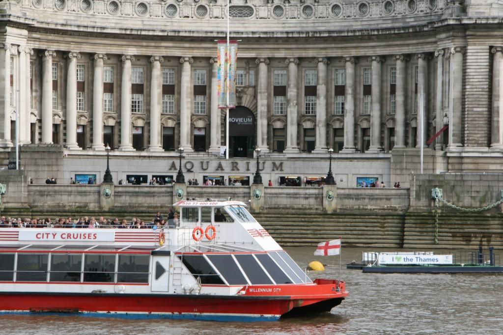Thames nehrinde yapılan tekne turları ile şehri birde sudan görmelisiniz
