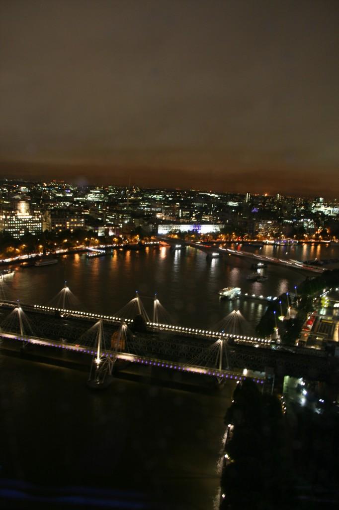 London Eye'dan Thames Nehri