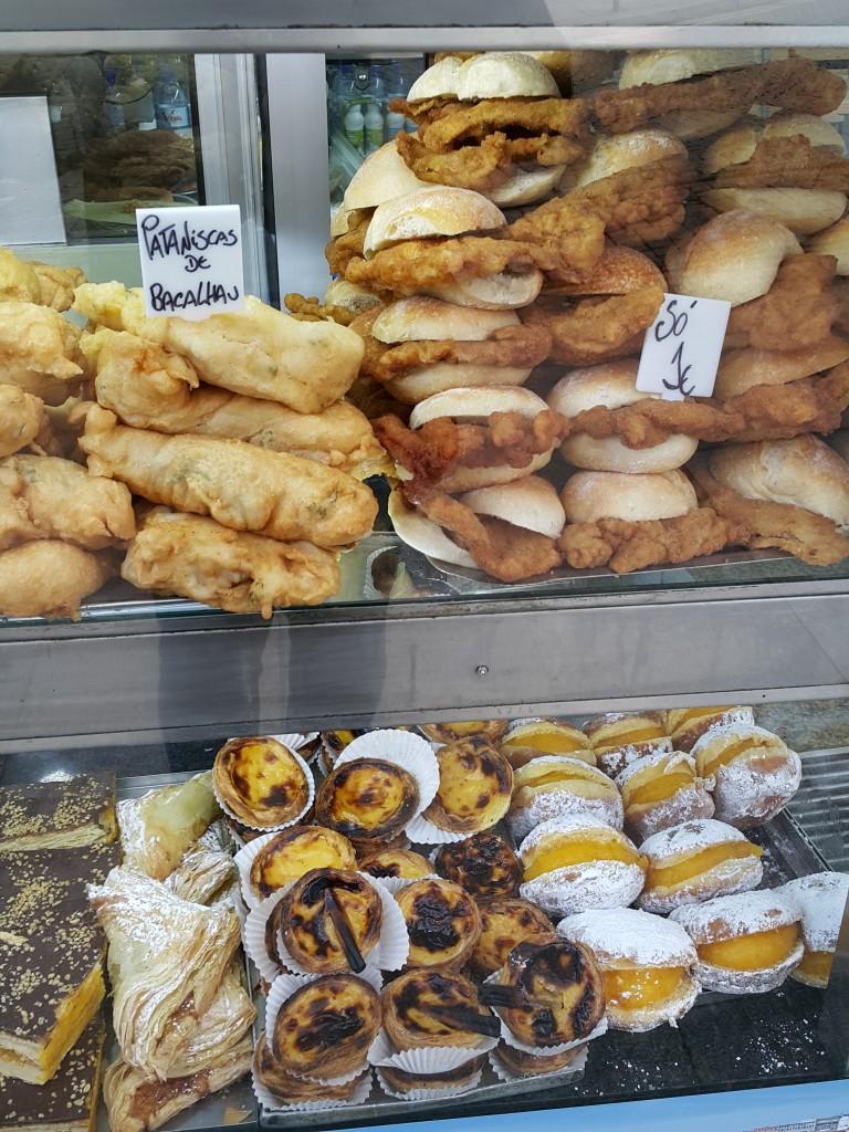 Çeşit çeşit Portekiz çörekleri