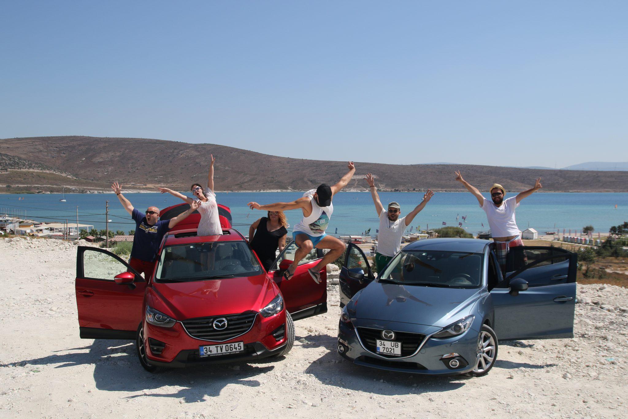 Çılgın Mazda fotoğrafımız