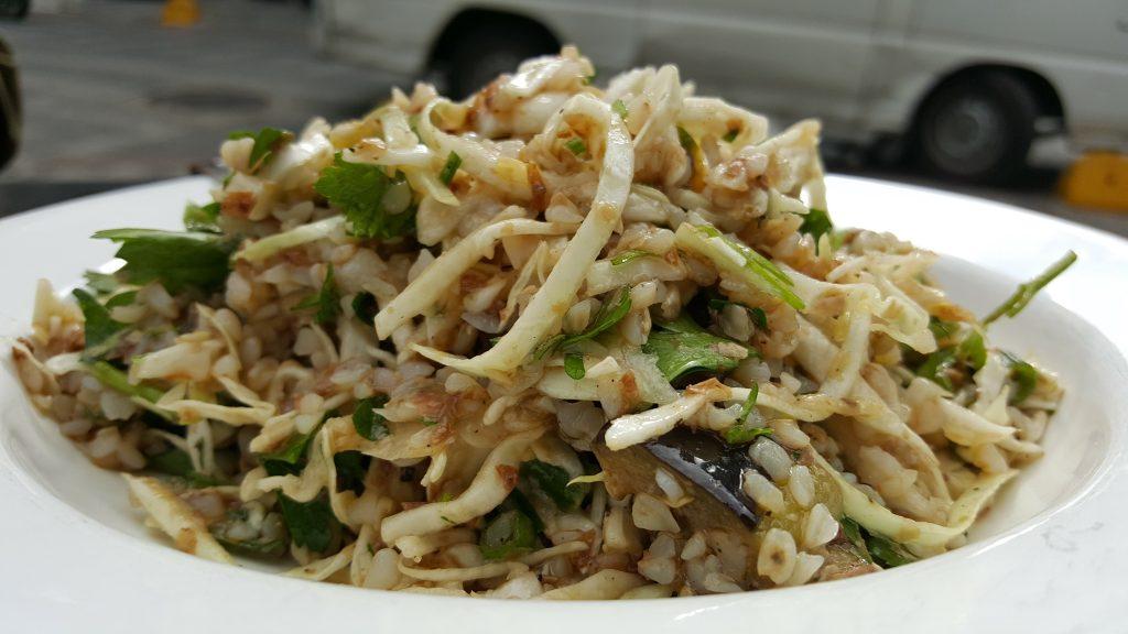 Basta'nın lahana salatası