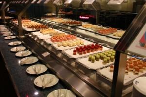 Toda'nin tatlı büfesi, Yeşilçaylı Cheesecake'i muhteşem...