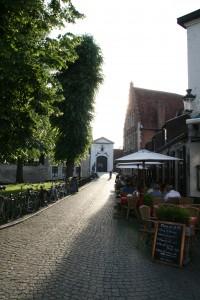 Brüj'de sık sık karşınıza Fransız cafe ve restaurantları çıkıyor