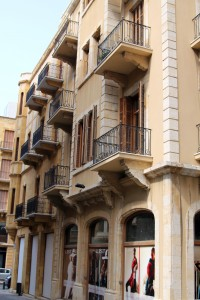 Downtown Beyrut'da binaların geneli Fransız tarzı inşa edilmiş