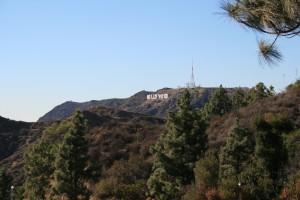 Griffith Gözlemevi'nden Hollywood simgesinin görünüşü