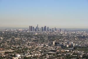 Griffith Gözlemevi'nden LA görüntüsü