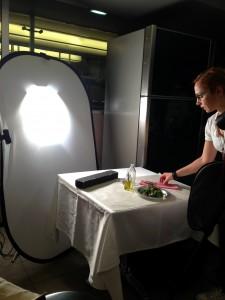 Food Styling'de ders veren Yemek Fotoğrafçısı Bahar Kitapçı