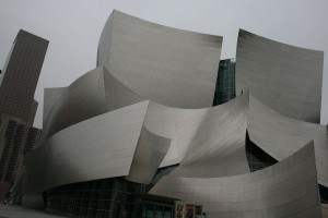 Downtown'da bulunan Disney Hall Konser Salonu