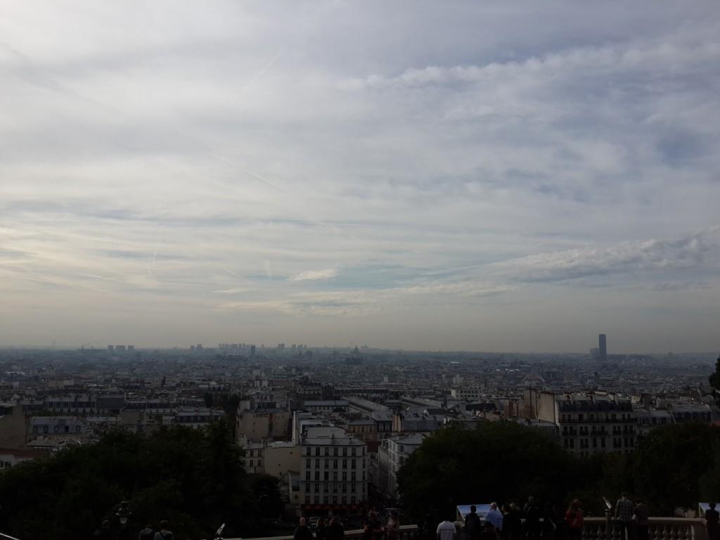 Sacre De Couer'den Paris Manzarası