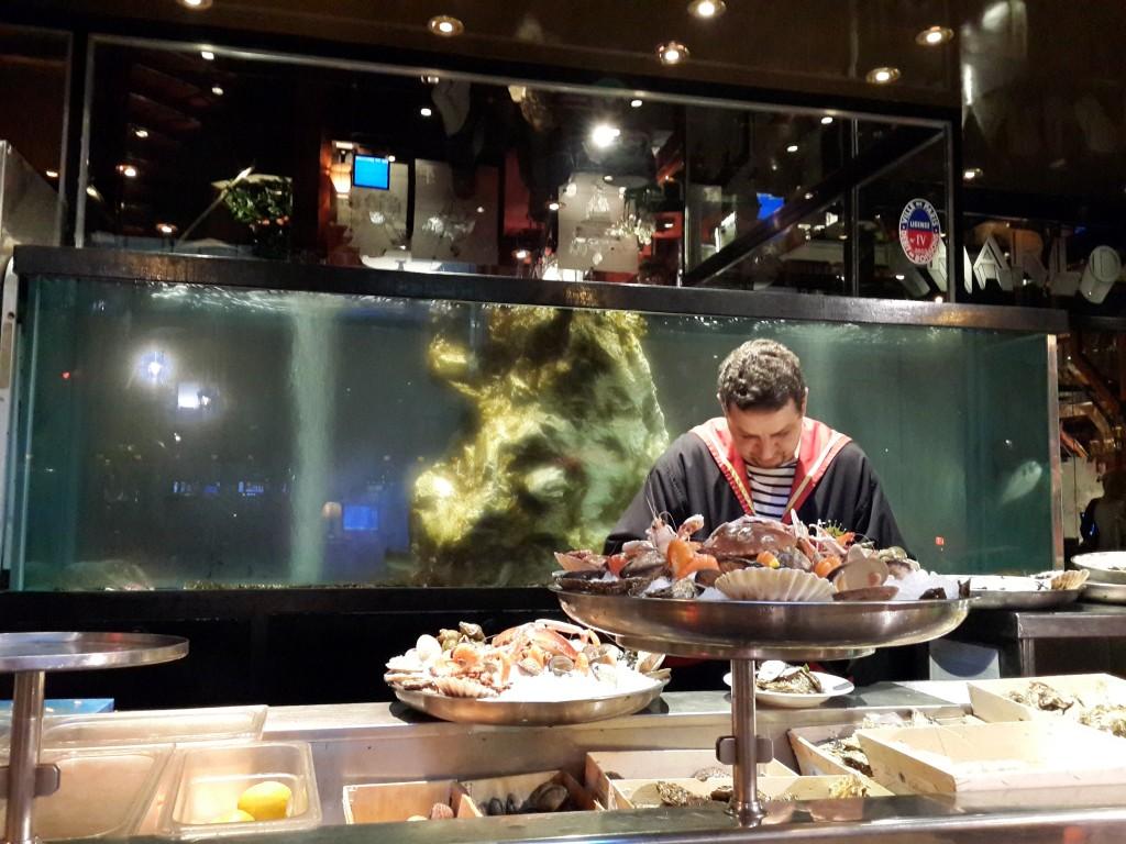 """""""Charlot"""" adlı Deniz Ürünleri Restoranı"""
