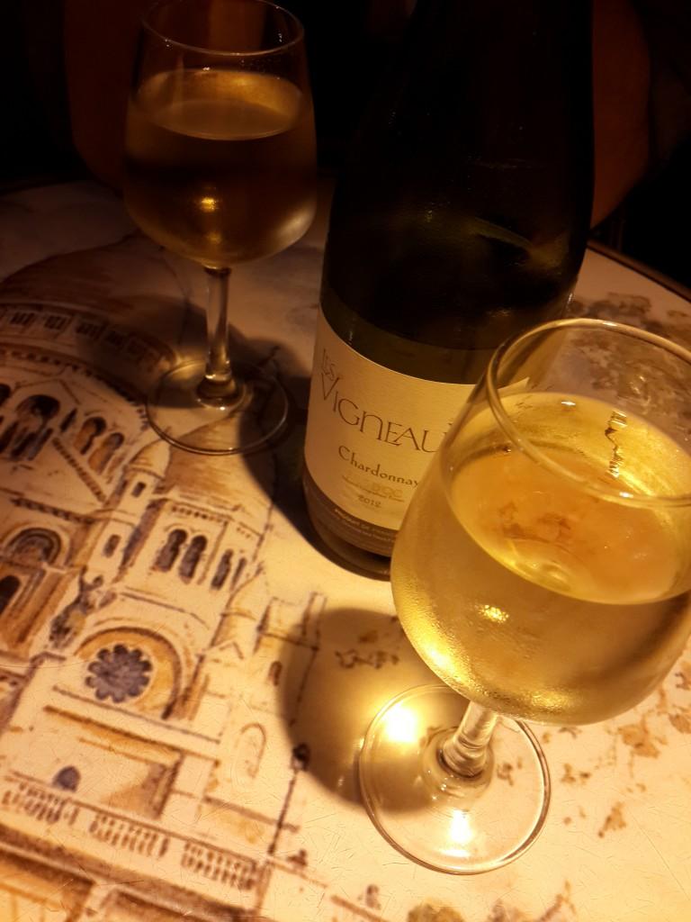 Akşam Yemeğinde Fransız Şarabı