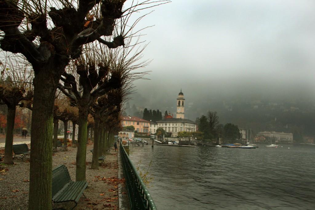 Cernobbio'da Göl Manzarası İnanılmaz...