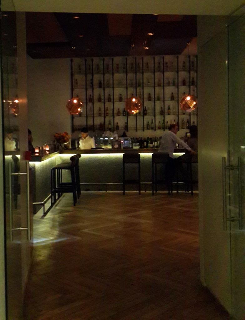Restoranın Bar Bölümü