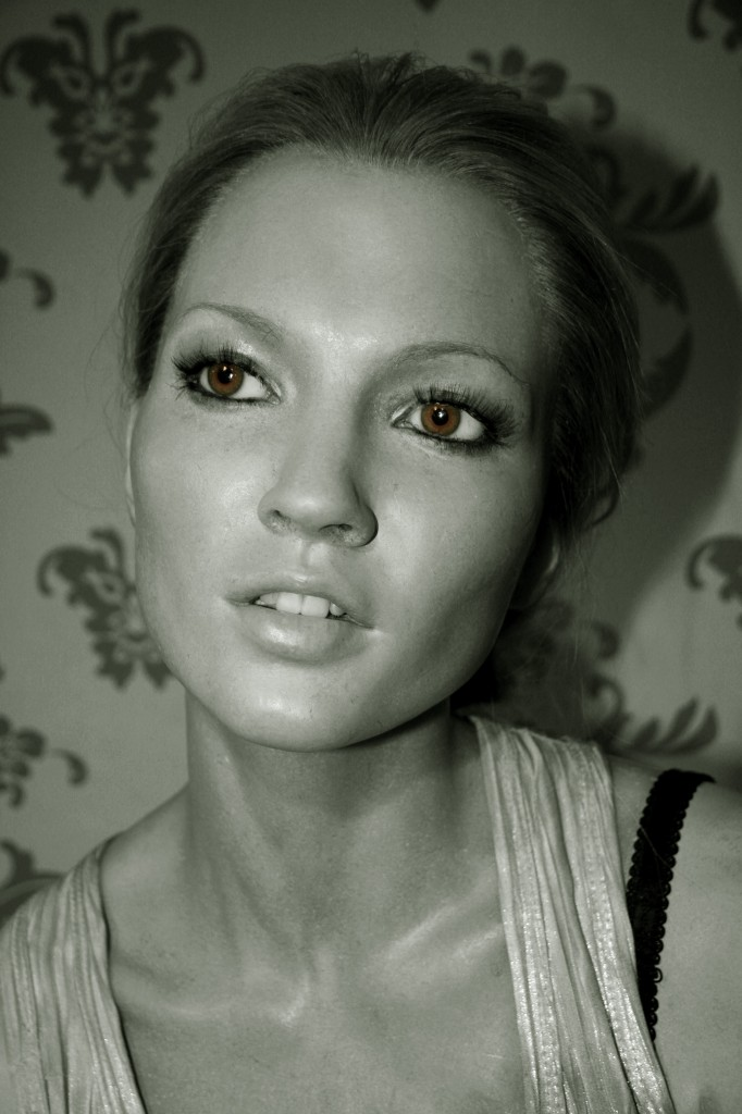 Madame Thussaud'da ki Kate Moss Heykeli
