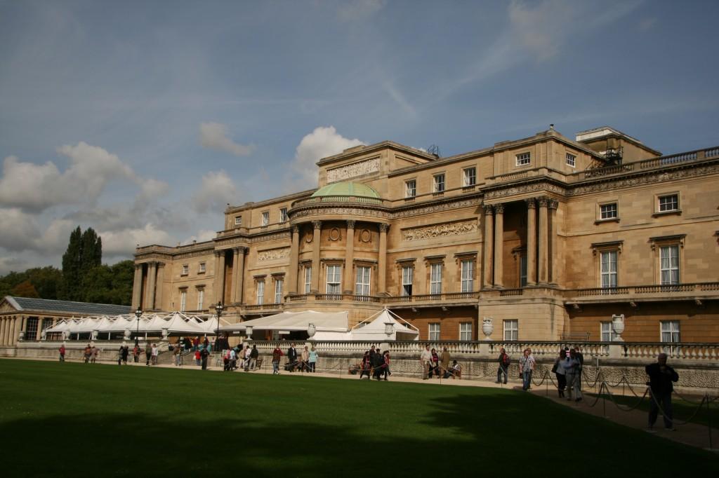 Buckingham Sarayı'nın Yaz aylarında ziyarete açık kısmı