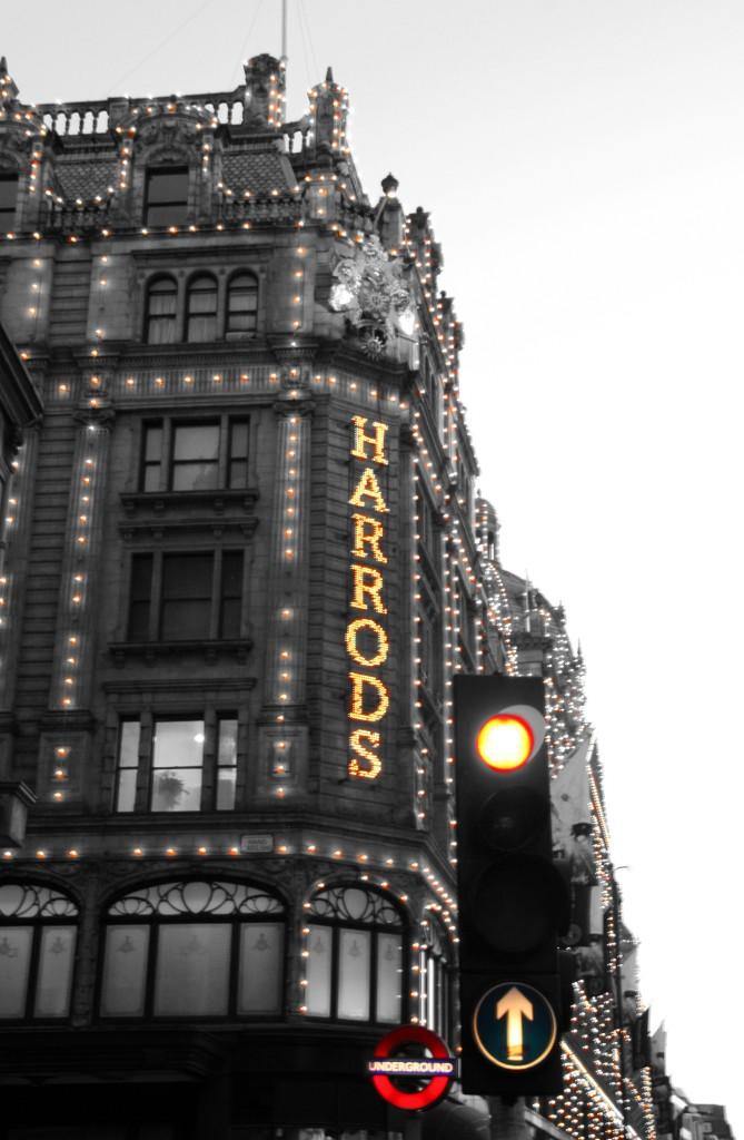 Londra'nın en ünlü mağazalarından olan Harrods