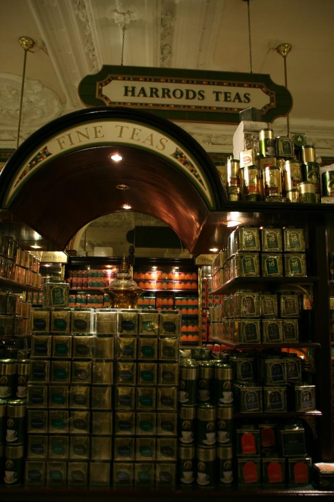 Harrods'ın Yeme İçme Bölümü