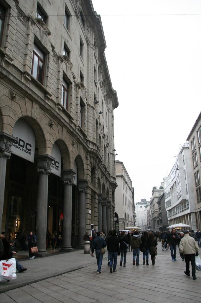Milano'nun Alışveriş Caddeleri