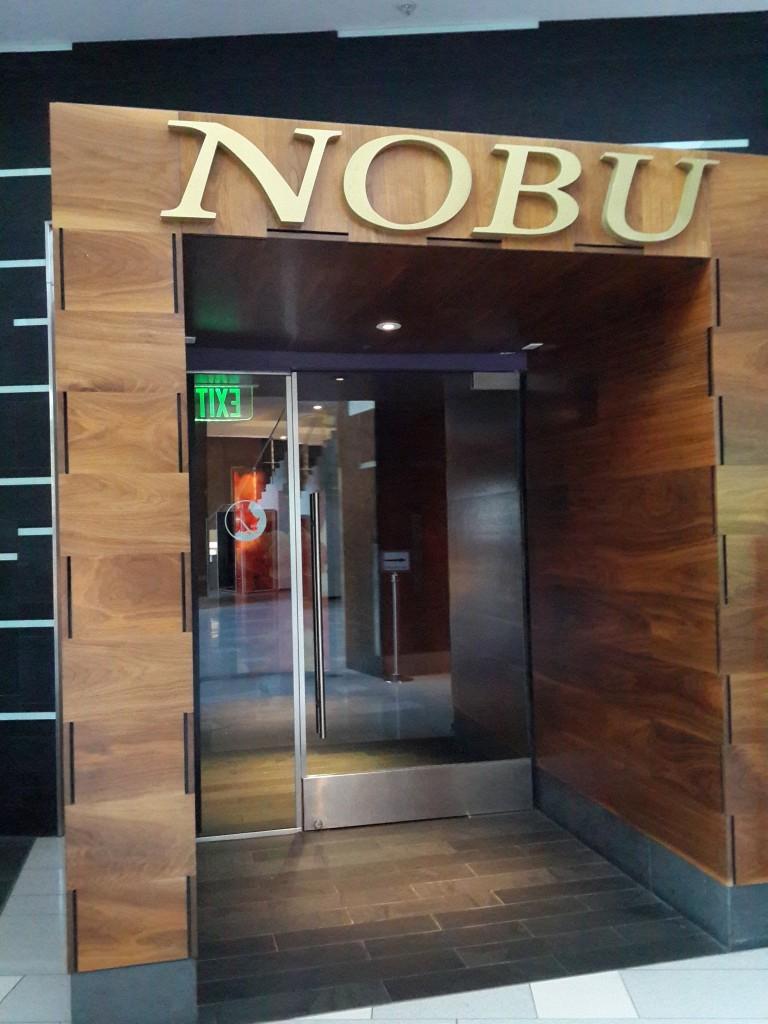 Hard Rock Otelinin İçinde Nobu Restoranı Var