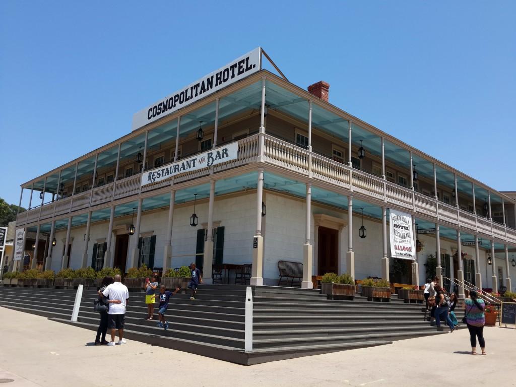 Cosmopolitan Otel San Diego'nun en Eski Yerleşim Yeri Olan Old Town'da Yer Alıyor