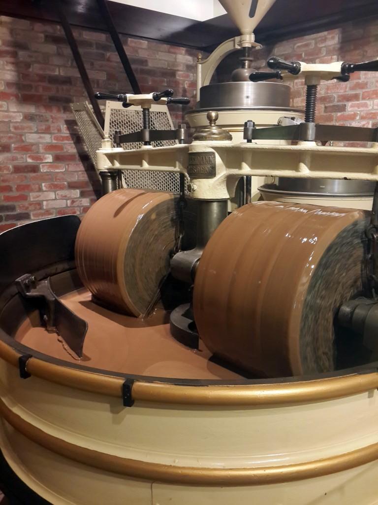Ghirardelli'de Çikolata Yapımı