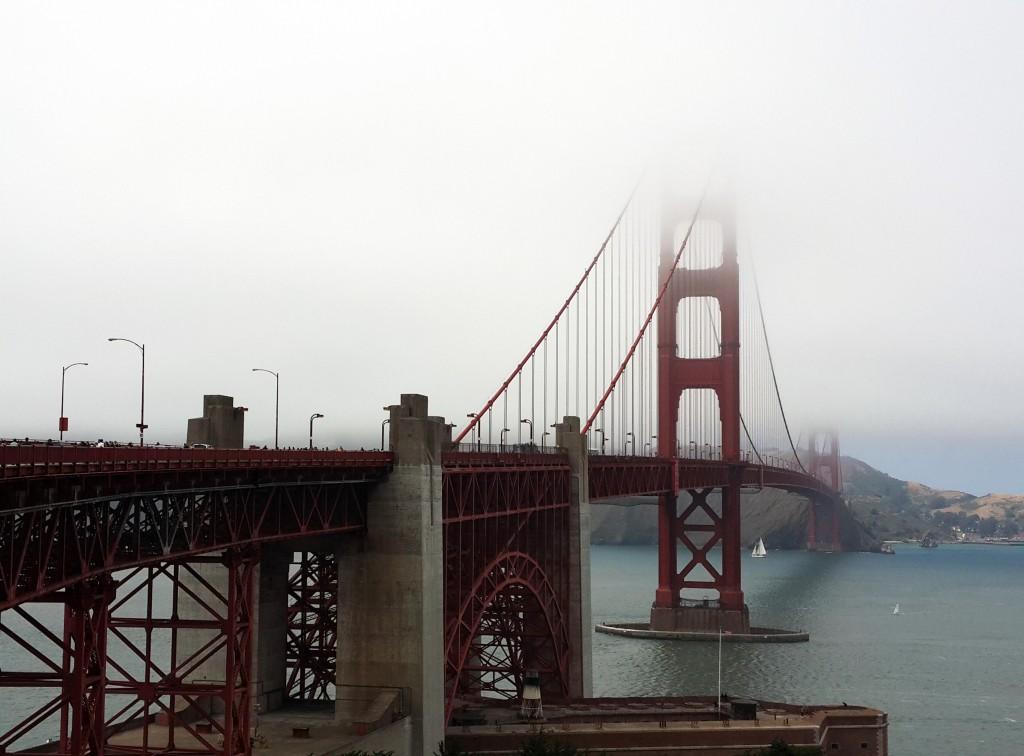 İhtişamlı Golden Gate Köprüsü
