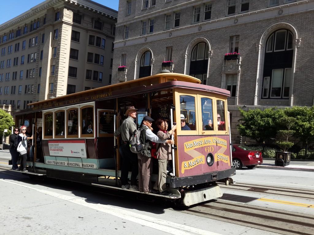 San Francisco'ya Özgü Tramvay