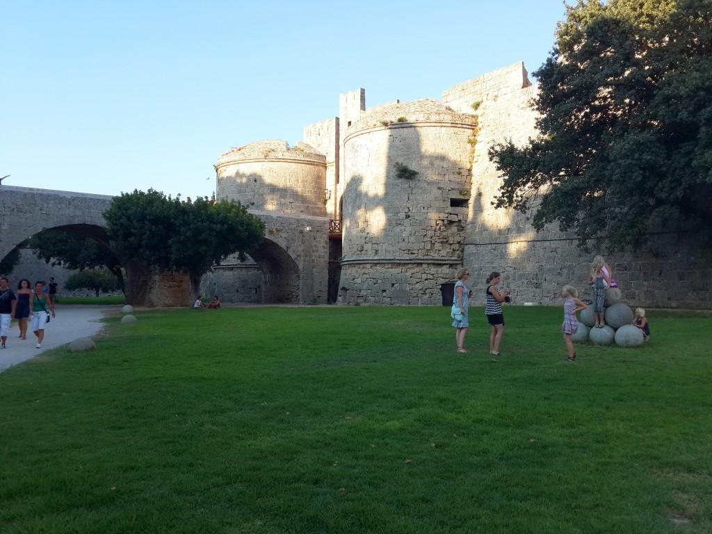Rodos'un Kale Duvarları
