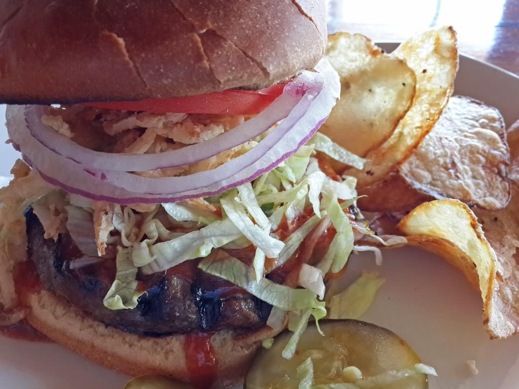 Mango Barbeque Burger