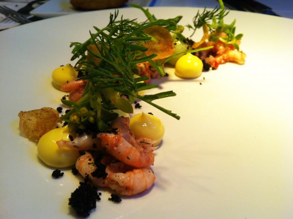 Koefoed Adlı Restorant'da Yediğimiz Deniz Ürünü Salatası