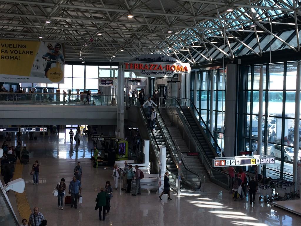 Roma Fiumicino Havaalanı