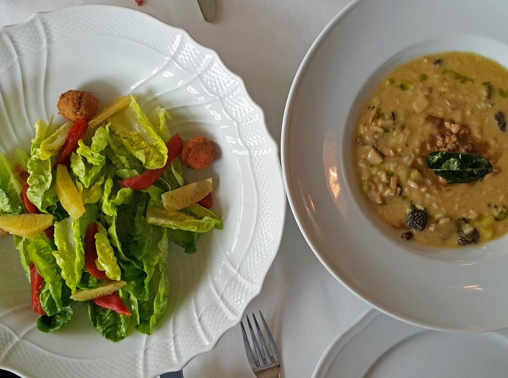 Risotto ve Ördekli Salata
