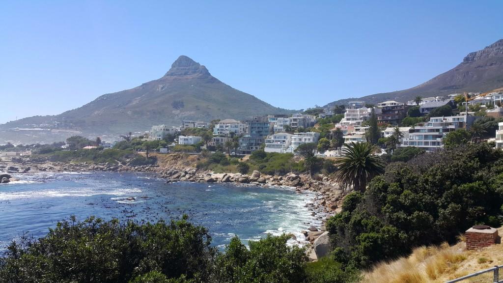 Cape Town sahil şeridi çok ama çok güzel...