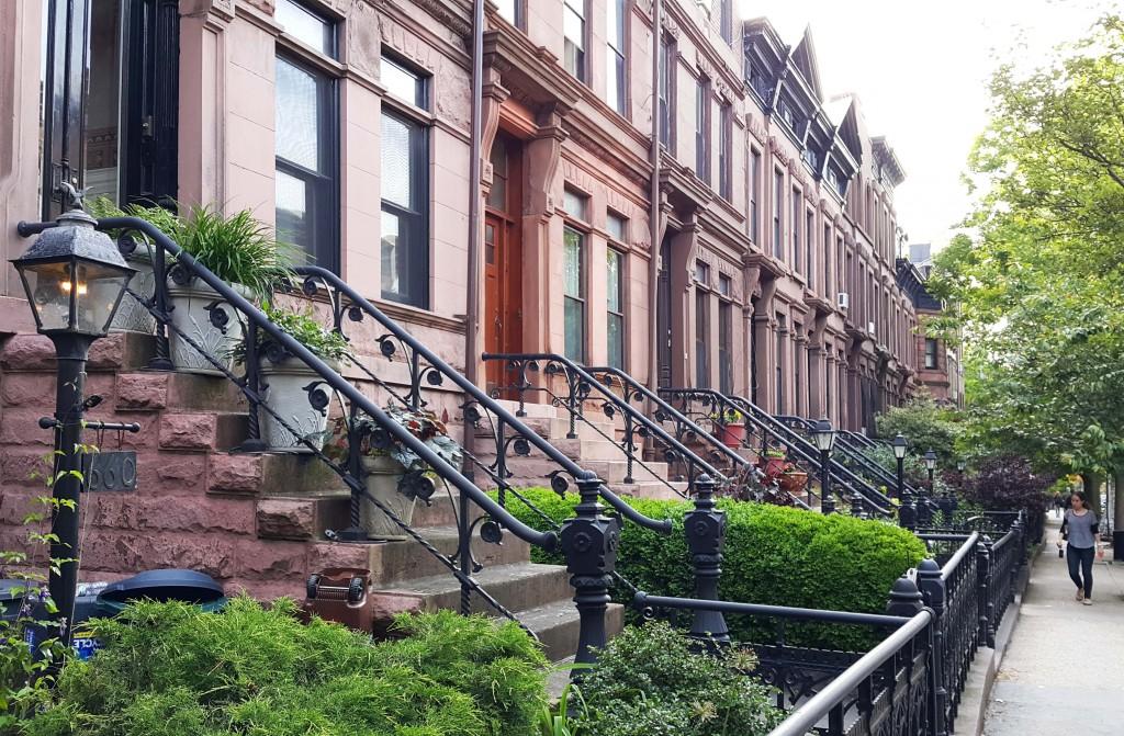 Brooklyn'de Victorian tarzı evler