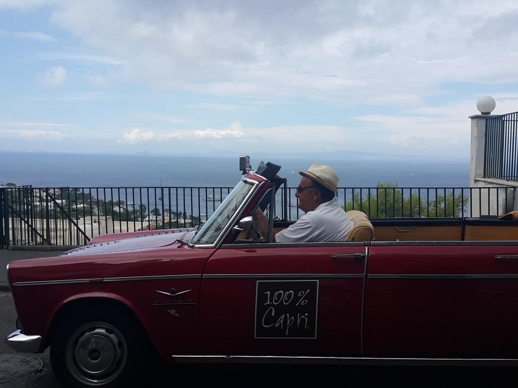 Capri'ye özgü taksiler