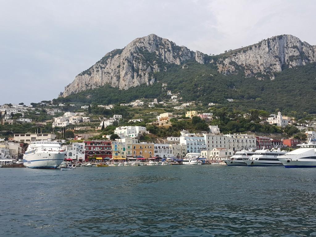 Capri'ye yaklaşırken...