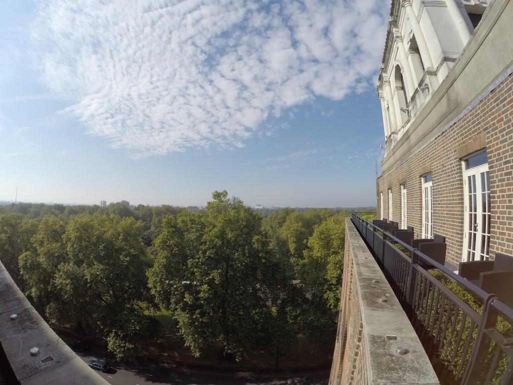 Penthouse'ların balkonlarının manzaraları müthiş...