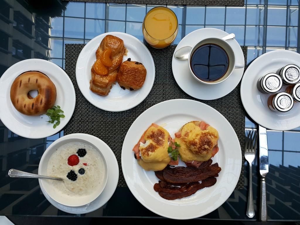 Jumeirah'ın kahvaltı menüsünden lezzetler