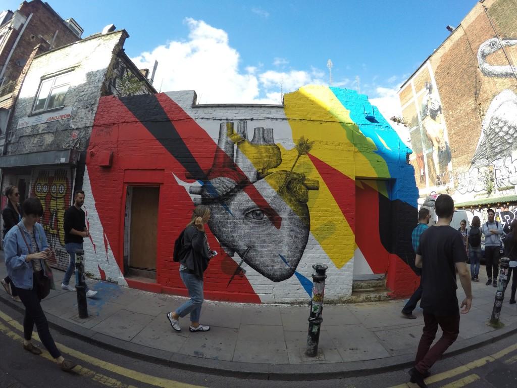 Shreditch'in Street artlarına bir örnek