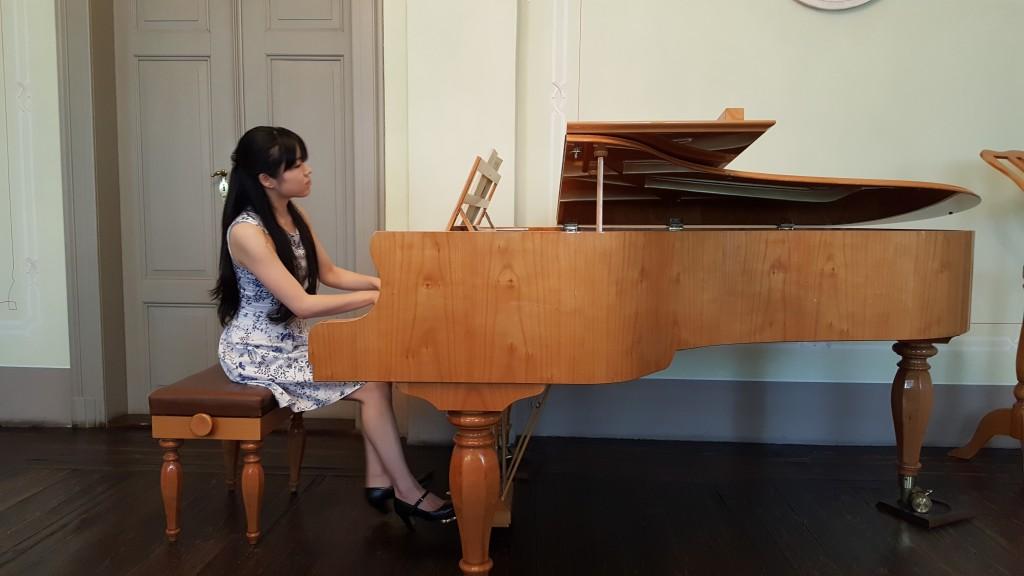 Mendelssohn müzesinde mini konser