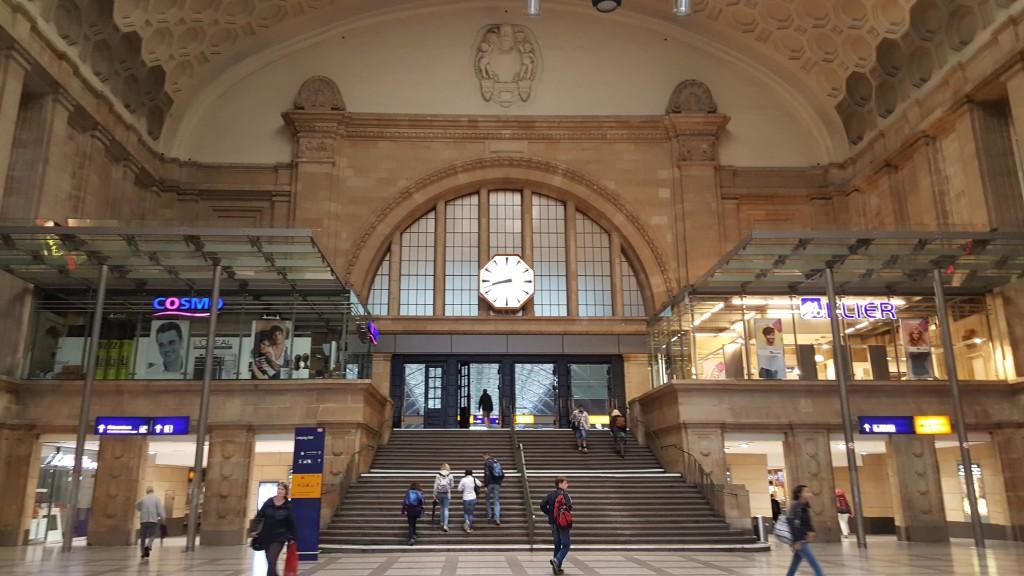 Leipzig Tren İstasyonu